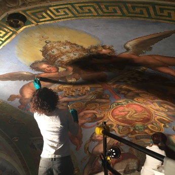 Constantine Room Ceiling Art Restoration