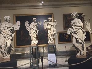 Restoration of Bernini Angels Statues