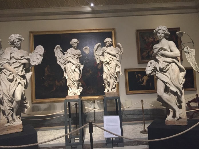 Restoration of Bernini Angels Statues
